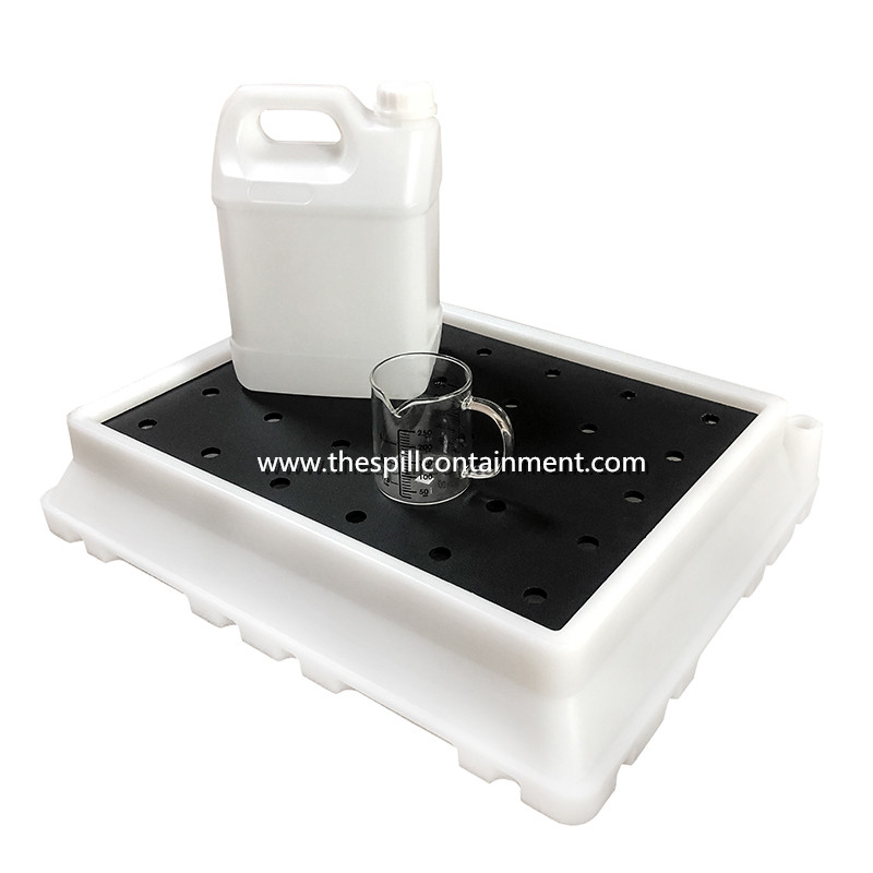 Tabletop Chemical Spill Containment Tray