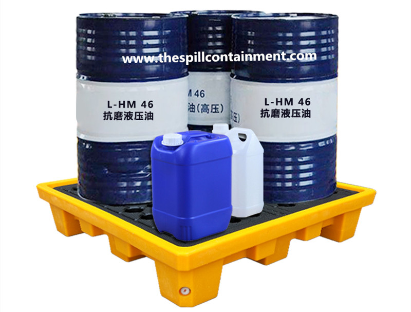 4-drum Spill Containment Pallet