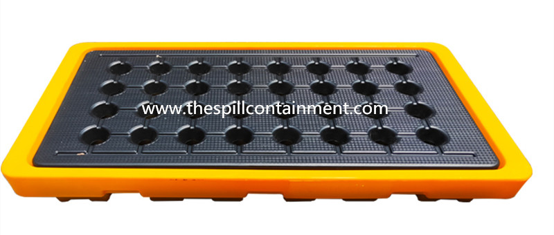 2-Drum Spill Containment Deck