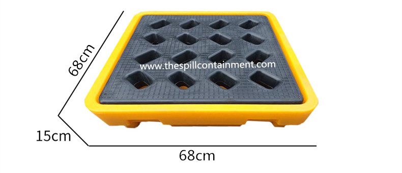 1-Drum Spill Containment Deck