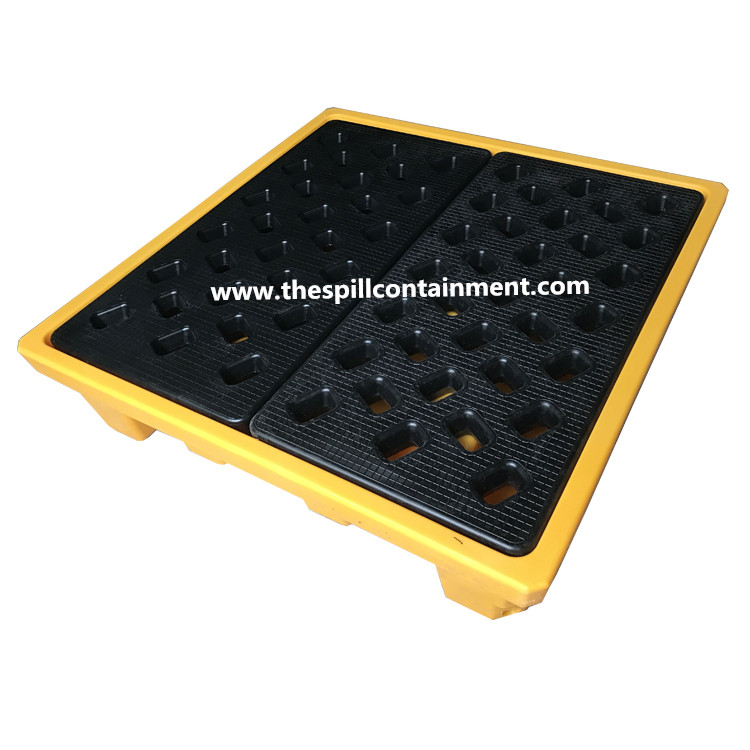 4-Drum Spill Containment Deck