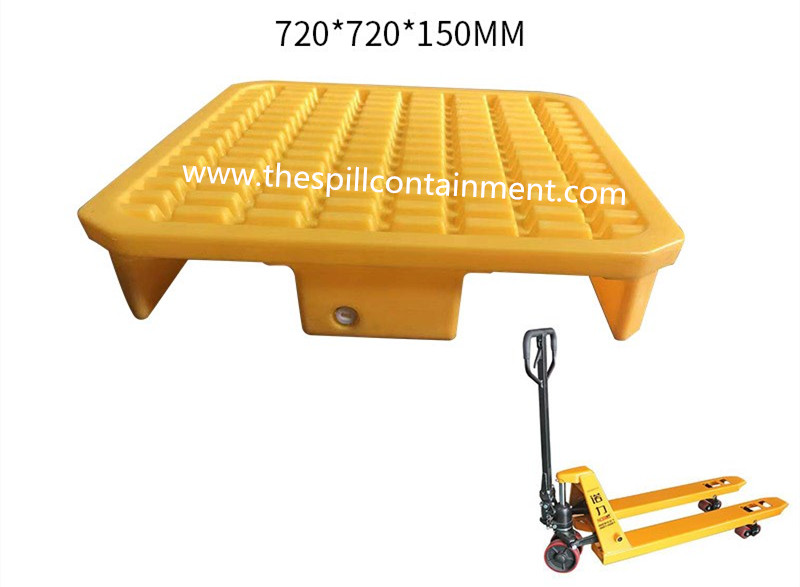 1-piece 1-drum Spill Containment Deck Platform