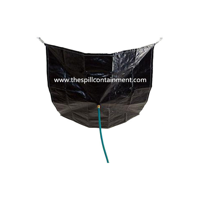 PVC Tarpaulin High Quality Leak Diverter with Hanging Straps