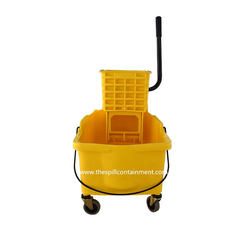 Plastic Mop Squeezer Bucket with Wringer