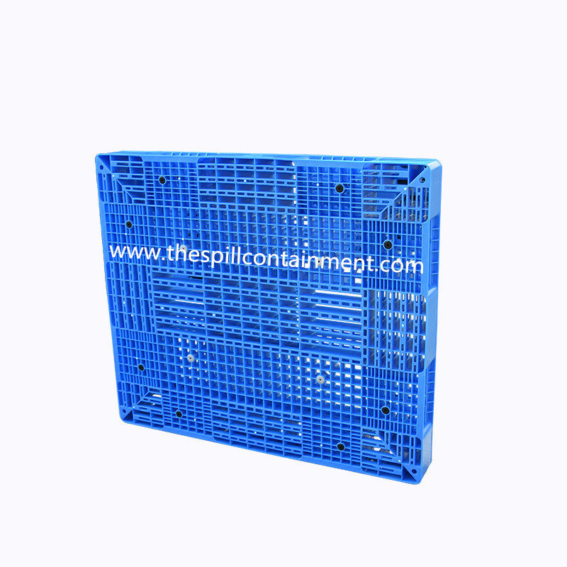 Vented Turnover 9 Runners Plastic Pallet